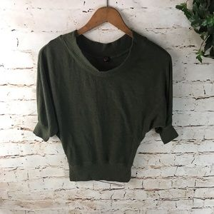 🌞Poof! 1/2 Sleeve Cowl Neck Sweater Top